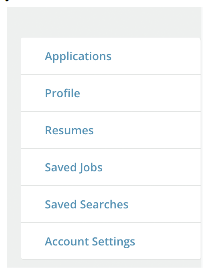 The Profile Builder will pull all applicable information from your resume like work experience, education, and other information you've entered.